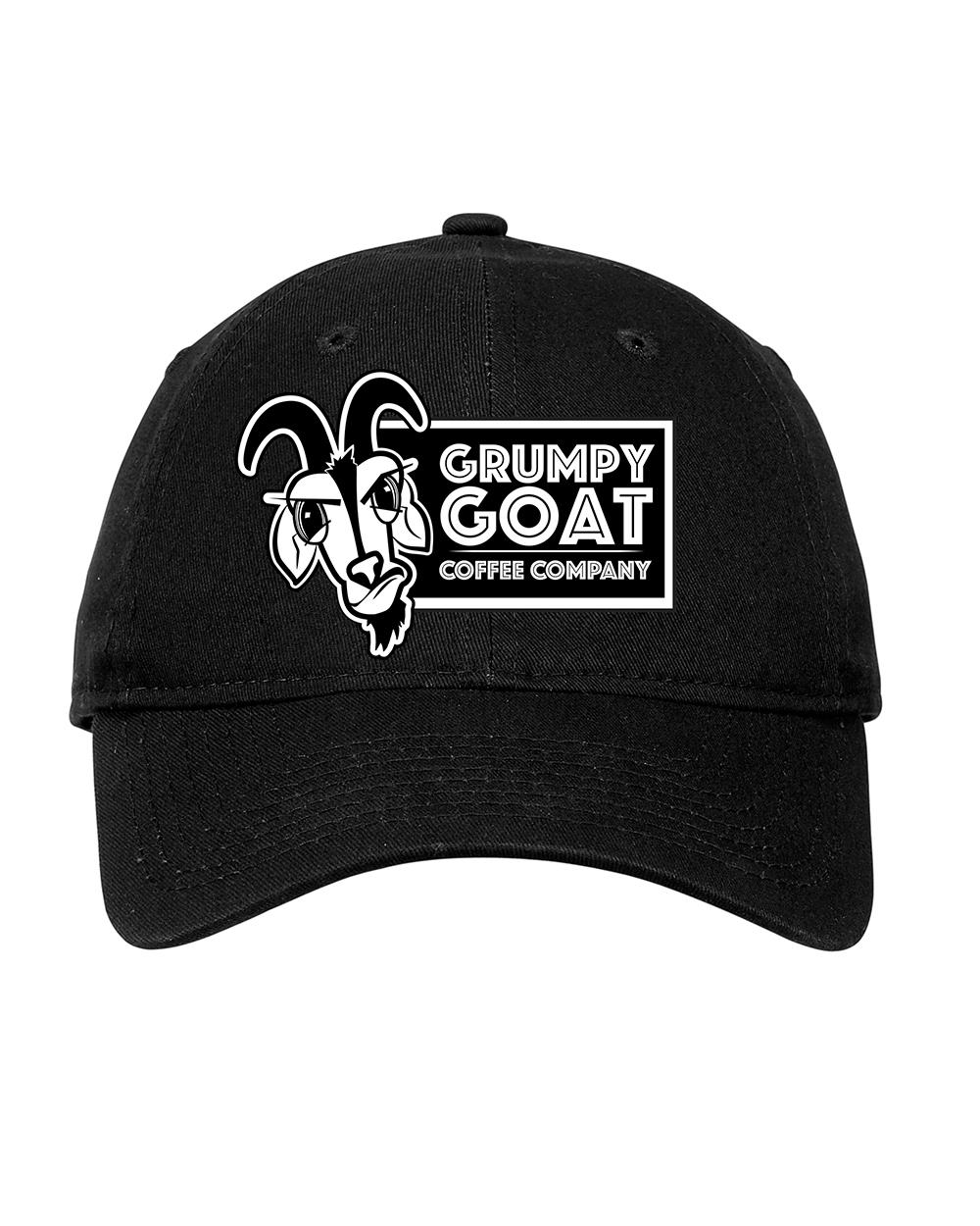 Grumpy Goat New Era® - Adjustable Unstructured Cap