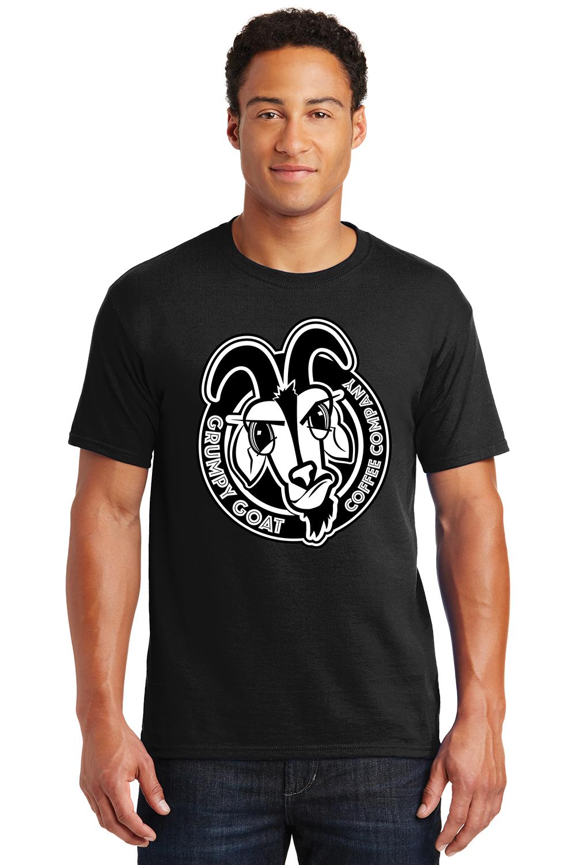 Grumpy Goat Coffee Black Tshirt