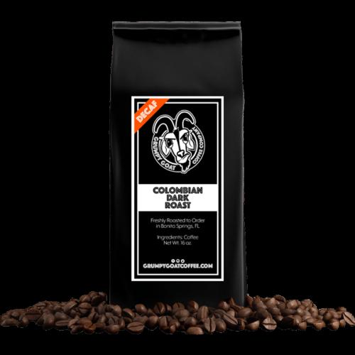 Grumpy Goat Coffee Colombian Decaf