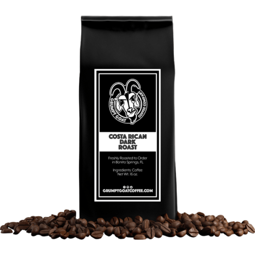 Grumpy Goat Coffee Costa Rican Dark Roast