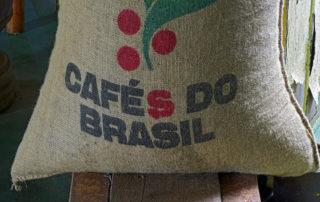 Brazilian coffee sack