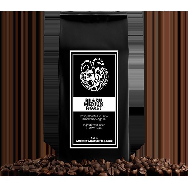 Grumpy Goat - Brazil Coffee Beans