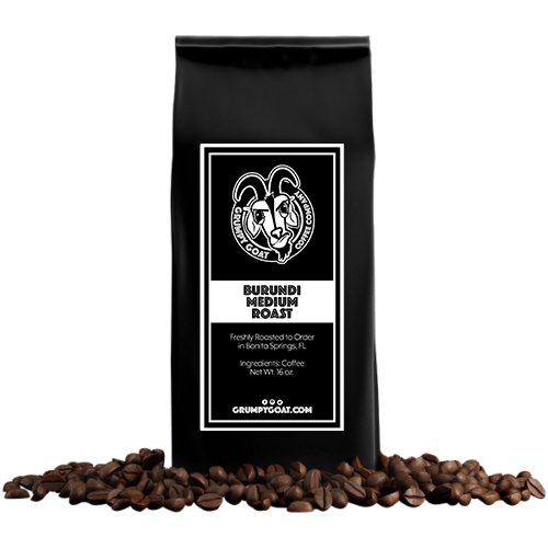 Burundi Medium Roast Coffee Bag