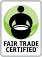fair trade certified badge